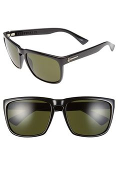Women's ELECTRIC 'Knoxville XL' 61mm Sunglasses - Gloss Black/ Grey