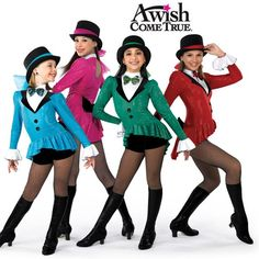 A Wish Come True Dance 2013: Ringmaster Adult Jazz/Tap Dance Costume