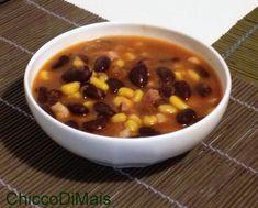 Zuppa di fagioli rossi e mais ricetta messicana il chicco di mais http://blog.giallozafferano.it/ilchiccodimais/zuppa-di-fagioli-rossi-e-mais-ricetta-messicana/