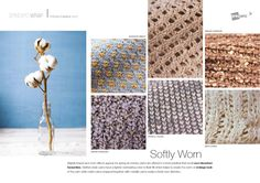 FASHION VIGNETTE: TRENDS // SPIN EXPO - MATERIAL TRENDS . SS 2017
