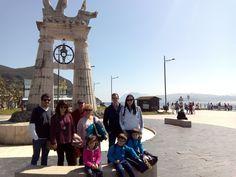 Una de nuestra visita guiada por #Santoña en Semana Santa..  #santoñateespera