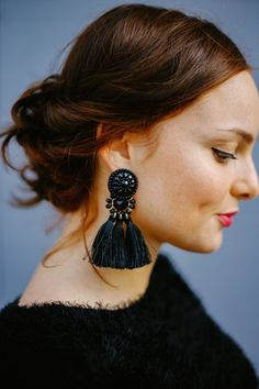 pendientes de fiesta invierno blog moda earrings fashion blogger