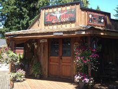 Summer flowers western theme shed the long horn saloon