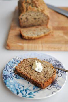 No Sugar Added Banana Bread - Heathers Dish