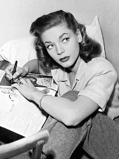 #TBT to Hollywood icon Lauren Bacall who passed away this week at age 89. With her husky voice and casually-cool style, Bacall was the epitome of Old Hollywood's glamour and sexiness.