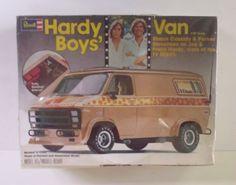Revell Hardy Boys van box art