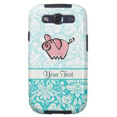Pig; Cute Samsung Galaxy S3 Covers