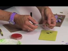 How to Use Sizzix Thinlits Lilac Flower Die. http://www.ucutathome.com/store/cat/Sizzix/id/37