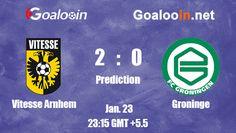 Vitesse Arnhem 2-0 Groninge