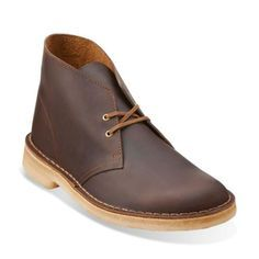 27c341eb64a Clarks Desert Boot Beeswax is an international cult classic. This chukka  offers a two eyelet