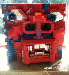 "Lego Version of King Crimson's ""The Court of the Crimson King"""