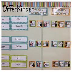 A Differentiated Kindergarten: Organizing Daily 5 Literacy Stations in Kindergarten and ...a freebie for you.