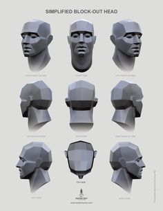 Planar head Block-out chart