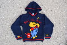 Vintage Winnie the Pooh Sweater, 90s Clothing - Size 4 - Vintage Clothing - Vintage Kids Clothes - Vintage Winnie the Pooh - Vintage Sweater