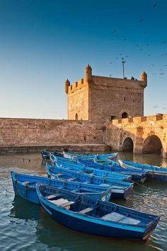 """- """"The Jewel of the Atlantic"""" It's a small fortified port on the same latitude as Marrakech, between Safi and Agadir. Places Around The World, Oh The Places You'll Go, Places To Travel, Places To Visit, Around The Worlds, Naher Osten, Mekka, Morocco Travel, Visit Morocco"""