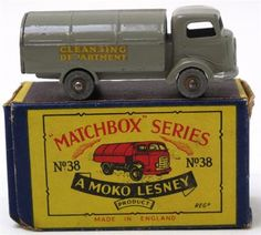 Lot 117 – Matchbox Moko Lesney 1:75 – Vintage and Collectible Toys 02 Apr 2014 http://www.candtauctions.co.uk/