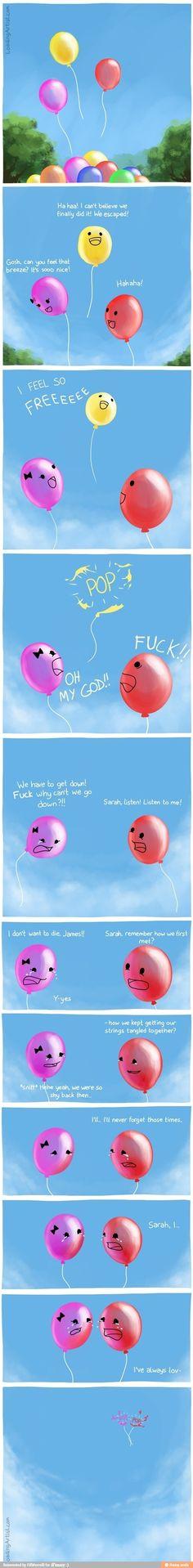 Balloon love story