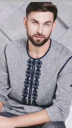 Indian Men Fashion, Muslim Fashion, African Fashion, Mens Fashion, Mens Designer Shirts, Designer Suits For Men, Bordados Viking, Bohemian Style Men, Boys Kurta Design