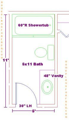 1000 images about decor floor plans on pinterest for Bathroom designs 5 x 9