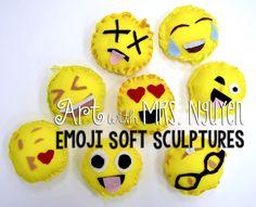 Art with Mrs. Nguyen: Emoji Soft Sculptures (5th)