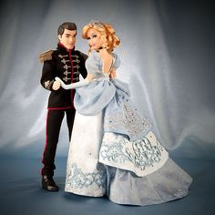 Disney Fairytale Designer Collection - Cinderella & Prince Charming Doll Set NIB | Toys & Hobbies, TV, Movie & Character Toys, Disney | eBay! -- so gorgeous. $250