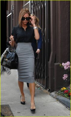 Victoria Beckham  - love the skirt
