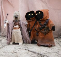 My dolls at the epic tusken photo shoot