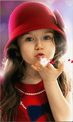 Best ideas baby wallpaper wallpapers for kids Good Morning Gif, Good Morning Images, Beautiful Children, Beautiful Babies, Foto Gift, Bisous Gif, Happy Weekend Images, Beau Gif, Blowing Kisses