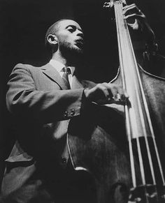 Percy Heath at the New York Jazz Festival, Downing Stadium, Randall's Island (1956-1961)