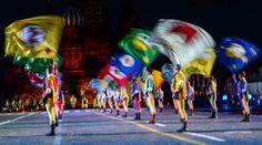 Le festival de musique militaire Tour Spasskaïa s'est ouvert - Dernières infos - Société - La Voix de la Russie