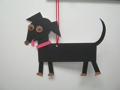 We read A Whistle for Willie by Ezra Jack Keats.  We made a dog that looks like Willie, so we will have something to remind us of the story and we can retell it to a friend.
