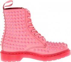 Stivaletti borchiati rosa  Dr.Martens