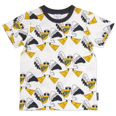 Amazing Pelican Print Tshirt! Children's Clothing   Polarn O. Pyret USA