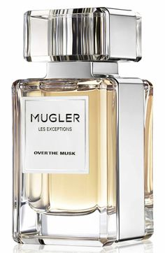 Inspired by the passionate and animal attraction of musk, Over the Musk by Mugler luxuriates in instinctive and deep pleasures with sophisticated, sultry style. It pairs the fresh, floral, petal-like facet of ambrette with edgy black pepper and vibrant woody notes for a scent that's as surprising as it is alluring. Sensual. Unpredictable. Enchanting.