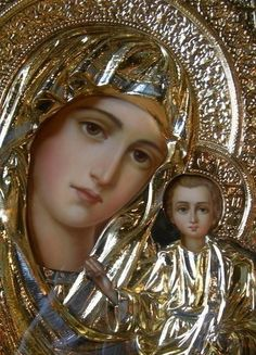 Madonna and Child Divine Mother, Blessed Mother Mary, Blessed Virgin Mary, Religious Pictures, Religious Icons, Religious Art, Immaculée Conception, Hail Holy Queen, La Madone