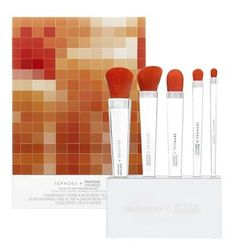 PANTONE has teamed up with beauty company Sephora to create a makeup line that revolves entirely around PANTONE's 2012 Color of the Year, Tangerine Tango.