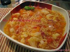 My minestrone soup - Jamie Oliver