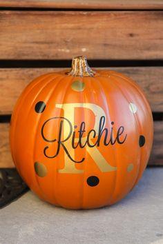 Personalize Your Pumpkin Decals