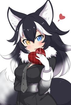 Safebooru is a anime and manga picture search engine, images are being updated hourly. Manga Girl, Anime Wolf Girl, Chica Anime Manga, Anime Art Girl, Anime Girls, Anime Meme, Snow Fox, Foto Youtube, Anime Ninja