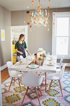 Casinha colorida: Inspirações para 2016: 37 salas de jantar