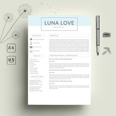 Bohemian Letterhead Design Letterhead Template Printable Cover
