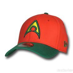 Images of Aquaman Symbol Orange 39Thirty Hat
