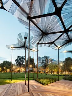 Summer Pavilions: 2015 MPavilion and NGV 2015 Summer Architecture Commission — The Design Files | Australia's most popular design blog.