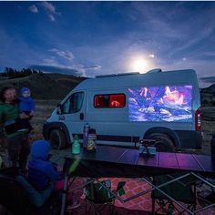 Pin by optimate on motorhomes pinterest vans van life for Mini projector near me
