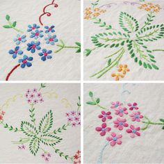 Charity Shop Find: Embroidered Table Cloth