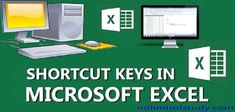 Most Important Shortcut Keys of Excel. These Shorcut Keys are Very Important for MS-Excel and Excel User, Because these shortcut keys are work easy. These Shortcut keys are best Shortcut keys of Advance Excel. Keyboard Shortcuts, Microsoft Excel, Computer Science, Keys, Study, Studio, Key, Studying, Research