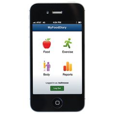"My Food Diary: Feeling indecisive? My Food Diary offers seven different ways to reach your weight loss goals, from daily color-coded reports that show what types of nutrients you're getting, to a digital ""refrigerator"" of the foods you eat most often. Log your choices in an expert-compiled database and calculate calories burned for more than 700 activities. Click through for more fitness and health apps that will help you jumpstart a healthy new year."