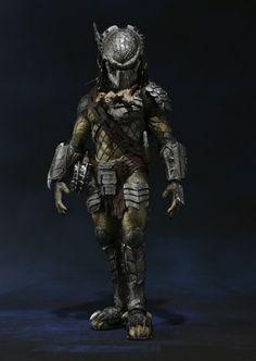 predator wolf figura 18 cm alien vs predator s.h. monster arts #bandai #tamashiinations #monsterArts #predator