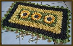 Tapetes Diy, Blanket, Stitches, Baroque, Cute, Flowers, Blankets, Cover, Comforters