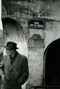 William Burroughs, Paris, 1959.